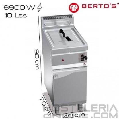 Freidora gas 10 lts Pie Bertos