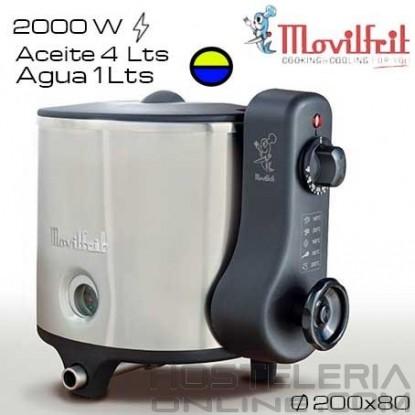 Freidora 5 litros MOVILFRIT (Agua/Aceite)
