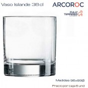Vaso whisky Islande 38 cl (Caja 6 unds)