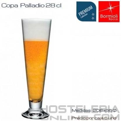 Vaso cerveza palladio