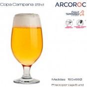 Copa Campana 29 cl (Caja 6 unds)