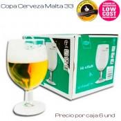 Copa Cerveza Malta 33cl (Caja 6 unds)