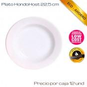 Plato Hondo 23.5 Ø Host (Caja de 24 unds)