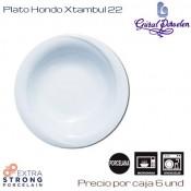 Plato Hondo Xtambul 22 (Caja de 12 unds)