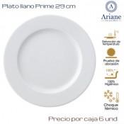 Plato llano Prime 29  (Caja de 6 unds)