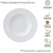 Plato Hondo Prime 23 (Caja de 6 unds)