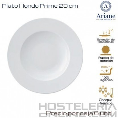 Plato hondo Prime