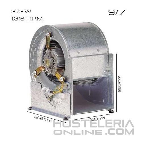 Ventilador centrífugo 9/7 [373 W]