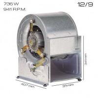 Ventilador centrífugo 12/9 [736 W]