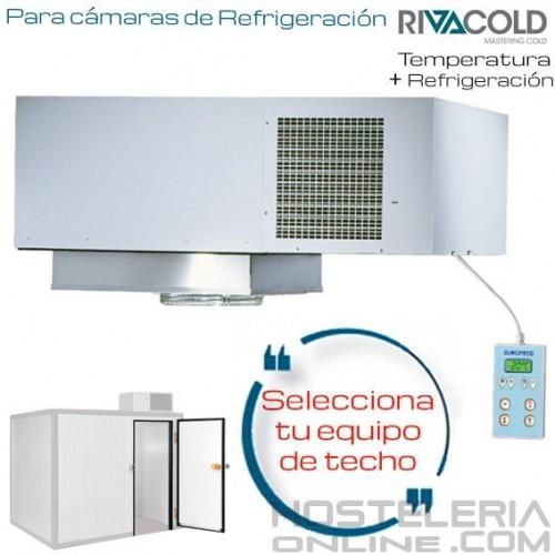 Selecciona tu equipo de refrigeración de techo