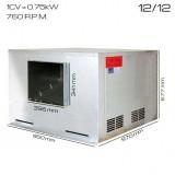 Caja de ventilacón 400ºC/2h 12/12 [1 CV]