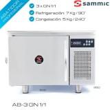 Abatidor de temperatura AB-3 GN 1/1