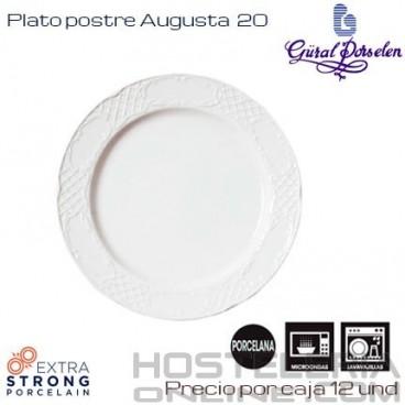 Plato postre Augusta