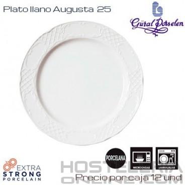 Plato llano 25 Augusta