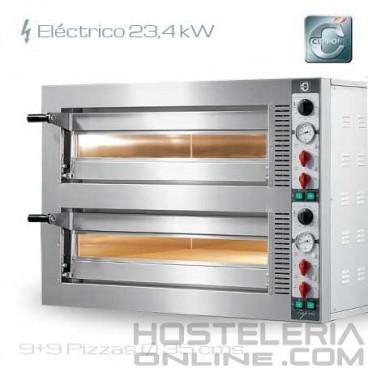 Horno para pizza eléctrico Cuppone TP 935/2