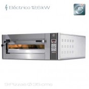 Horno para pizza eléctrico Cuppone DN 935/1