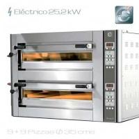 Horno para pizza eléctrico Cuppone DN 935/2