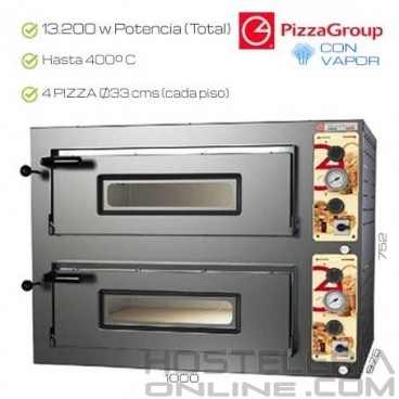 Horno industrial PizzaGroup 8 x 330 mm