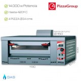 Horno industrial PizzaGroup 4 x 340 mm