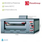 Horno industrial PizzaGroup 6 x 340 mm
