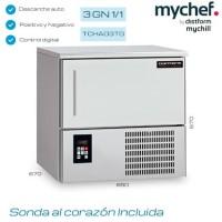 Abatidor de temperatura MyChef 3GN