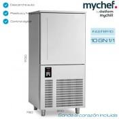 Abatidor de temperatura Mychill 10GN