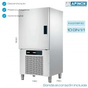 Abatidor de temperatura Afinox Faster-10
