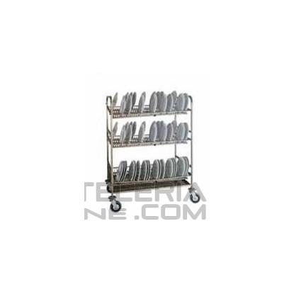 Carros transporte y almacenaje de platos CEP-22