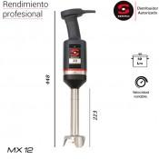 Triturador Sammic MX 12