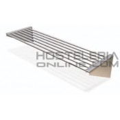 Estanteria de tubos inox pared eco 1000x300