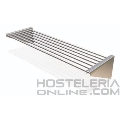 Estanteria de tubos inox pared eco 750x300