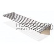 Estanteria de tubos inox pared eco 750x300