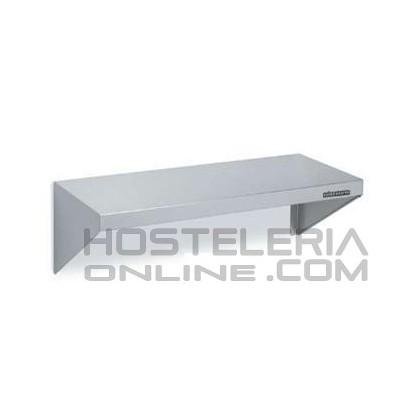Estanteria inox de pared 1400x400