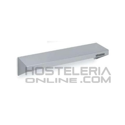 Estanteria inox de pared 2000x250