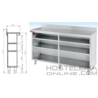 Mueble estante 1500x350