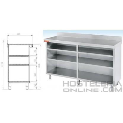 Mueble estante 2000x600