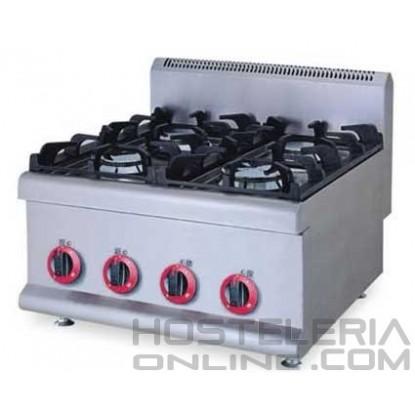 Cocina sobremesa 4 fuegos ¡¡OFERTA!!