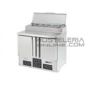 Mesa refrigerada gastronorm 1/1 para ensaladas S.700 ME1000EN