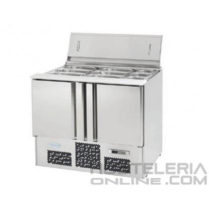 Mesa refrigerada gastronorm 1/1 para ensaladas S.700 ME1000BAN
