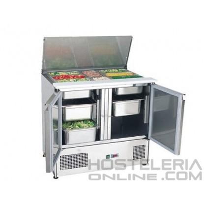 Mesa preparación ensaladas 900