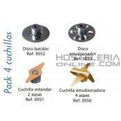 Accesorio Pack 4 cuchillas Dynamix