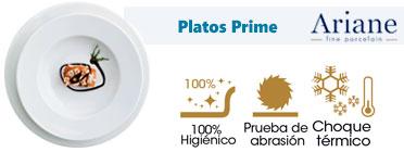 Plato hosteleria ariane prime