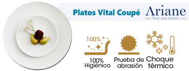 Platos para hostelería Vital coupe Ariane
