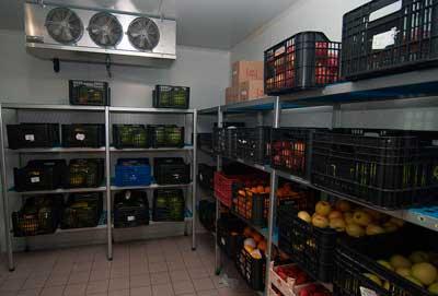 Cámara de refrigeración para Fruterías