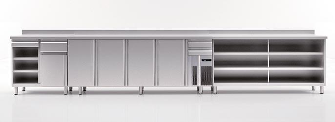 Mueble para cafeteras industriales
