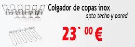 COLGADOR COPAS RACK COPAS